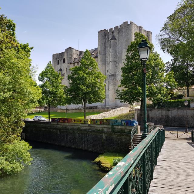 Donjon de Niort - Vu du Moulin du Roc