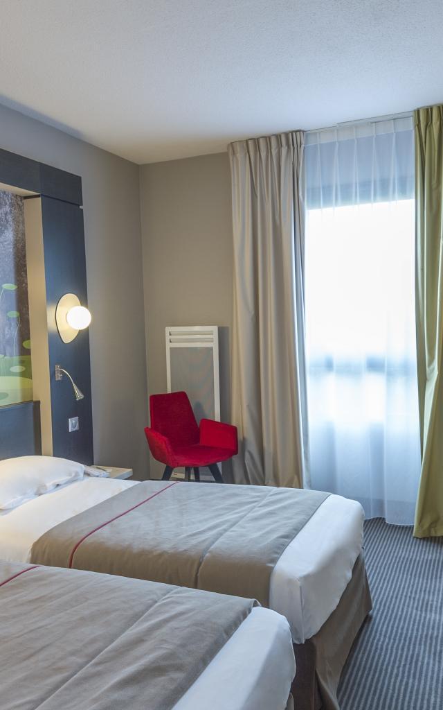 Mercure hôtel Niort Marais Poitevin - Chambre supérieur 2 lits simples